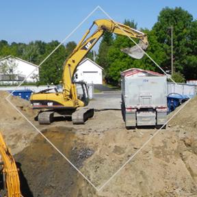 Service de travaux de décontamination (Phase 4) d