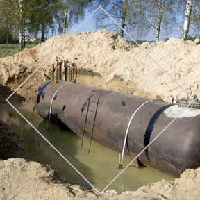 Service Démantèlement de réservoirs souterrains d'Environnement PH - Firme d'experts conseil en environnement œuvrant dans le domaine de la gestion environnementale